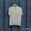Grey plain t shirt