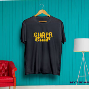 Ghapa Ghap Black t shirt