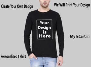 Full sleeve Customised t shirt